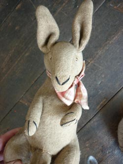 kangaroo stuffed toy