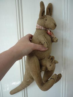 kangaroo teddy bears